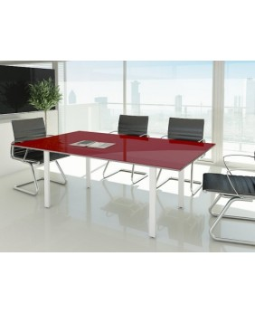 Mesa reunión rectangular Ipop