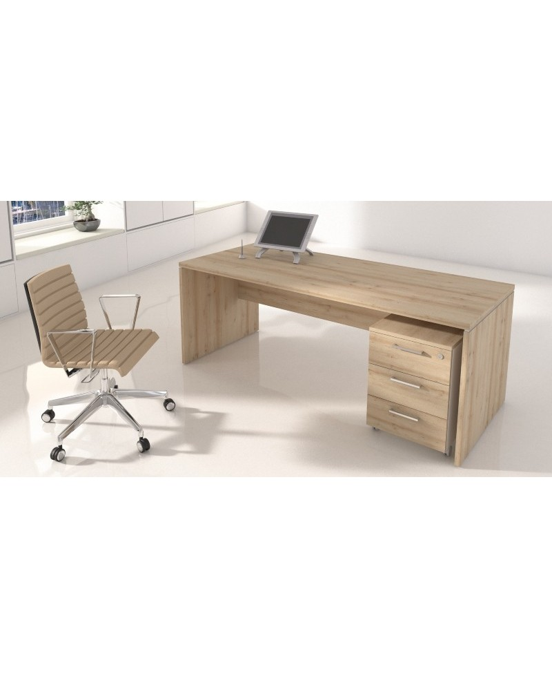Mesa • Mesa de oficina NEW PANO bilaminada