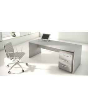 Mesa de oficina New pano acabado aspecto madera