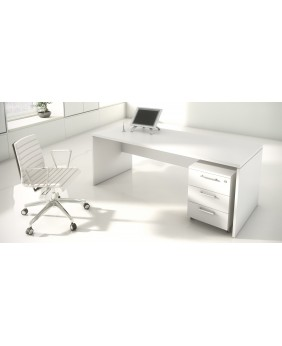 PACK 2 - Mesa de oficina NEW PANO + Cajonera