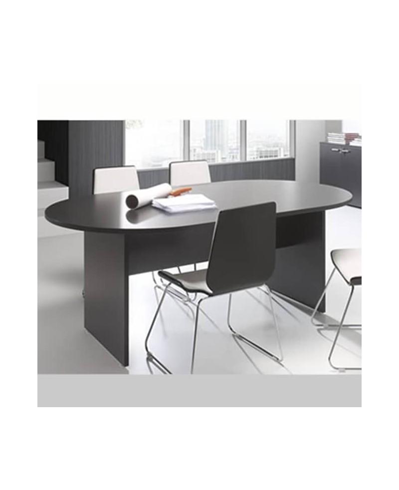 Mesa de reunión ovalada