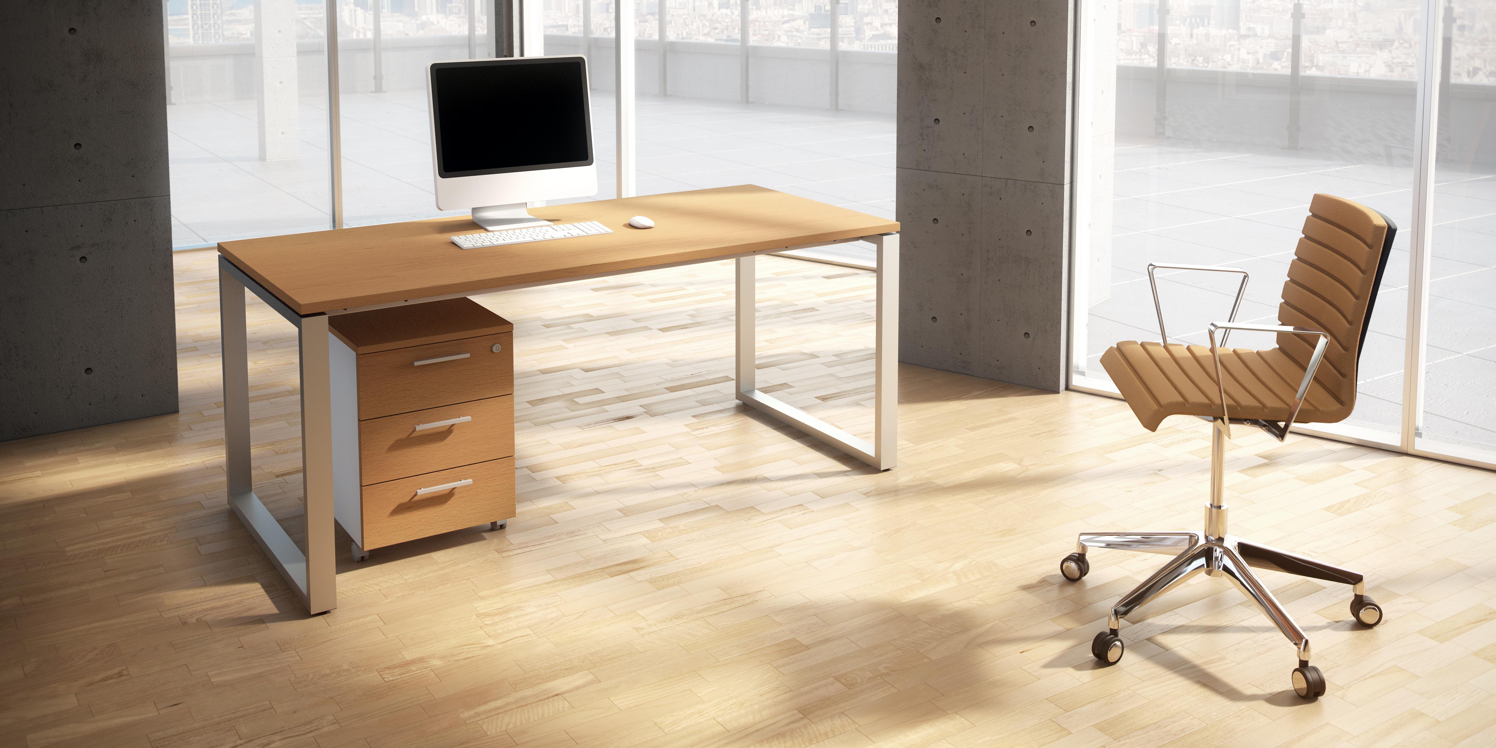 Mesa • Mesa de oficina OPOP bilaminada